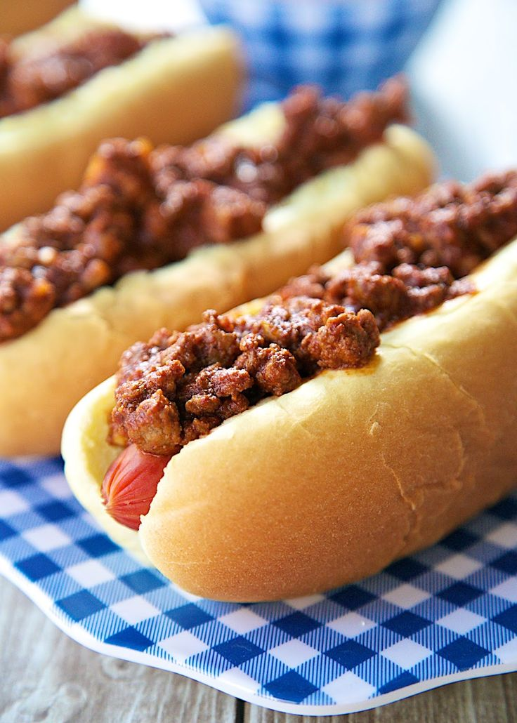 Dr Pepper Chili Dogs: Dr Pepper and chili dogs were already a classic pairing, now up the game by putting it in your chili dog.