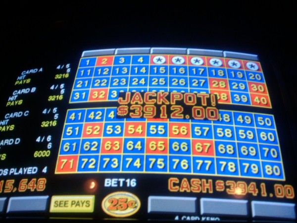 WHO'S TENDING | Local Las Vegas Gaming Bar Information: Another keno win at Putters