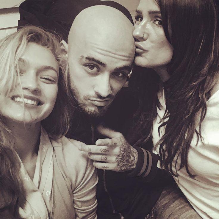 Zayn Malik debuts bald head in photo with Gigi Hadid  Zayn Malik appeared bald in a photo with girlfriend Gigi Hadid over the weekend.  #TheRealHousewives #GigiHadid #ZaynMalik @TheRealHousewives