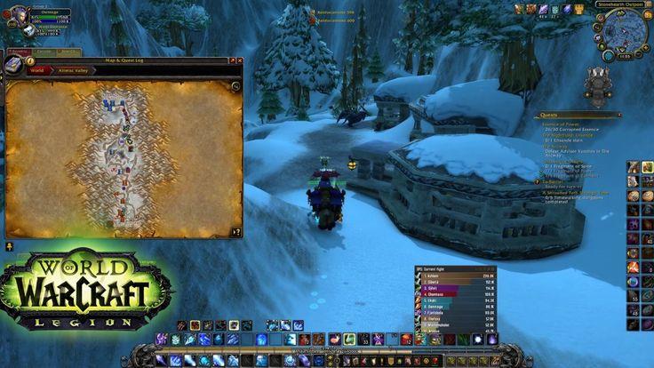 World Of Warcraft -  Battleground Alterac Valley pvp (ilvl 880 Mage pov)
