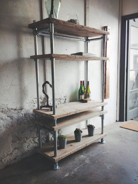 17 best ideas about industrial shelving units on pinterest. Black Bedroom Furniture Sets. Home Design Ideas