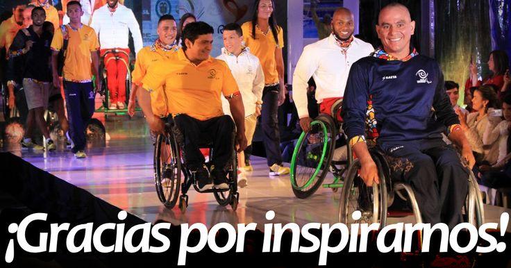 Nuestros héroes paralímpicos