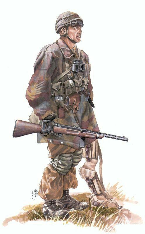 Italian paratrooper-1942, pin by Paolo Marzioli