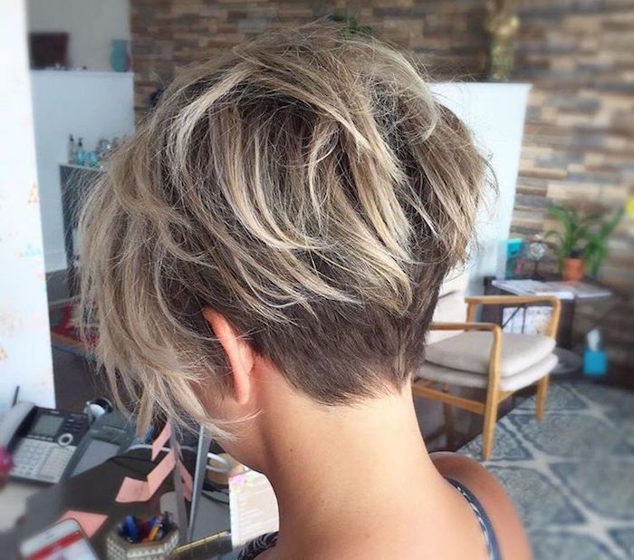 1001 Idées Coupe Courte Cheveux Fins Cheveux Coiffure