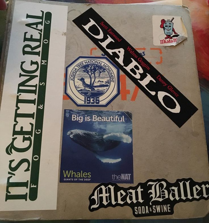 Three Ring Binder Cover. #iwrite #writer #writers #screenwriter #screenwriting #threeringbinder #stickers #film #filmmaker #nerd #geek