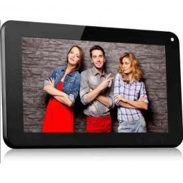 "Tablet 700 D 3G Lite crni Utok  Ekran 7"" TFT Capacitive multitouch, 5 points Procesor Dual Core Allwinner A23, 1.2GHz  Rezolucija 800x480 px Grafički čip Mali-400  Memorija 512MB DDR3  Kapacitet 8GB (5.2GB dostupno) WiFi (wireless) IEEE 802.11b/g/n Senzori G-Sensor"