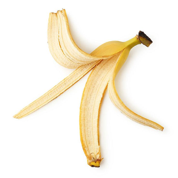 Yep, banana peels. And believe it or not, it even has the dentist's approval. Because bananas are high in potassium, magnesium, and manganese, the peel is an effective tool for teeth whitening. The pros advise starting with a banana that is just barely ripe, because that's when they have the optimum amount of potassium for whitening and brightening teeth. Cut off a small part of the peel and rub the inside of it against your teeth for about two minutes, covering as many teeth as thoroughly…