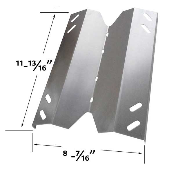 REPLACEMENT STAINLESS STEEL HEAT SHIELD FOR MEMBERS MARK B10PG20-2C, B10PG20-2R GAS MODELS Fits Compatible Member's Mark Models : B10PG20-2C, B10PG20-2R, GR2001402-MM-00, GR3055-014571 Read More @http://www.grillpartszone.com/shopexd.asp?id=35771&sid=36677