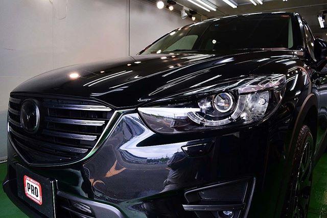 2017/5 マツダ・CX-5  新車購入時にディーラー様でコーティングされてましたが、いったんリセットしたいとの事でのご入庫。研...
