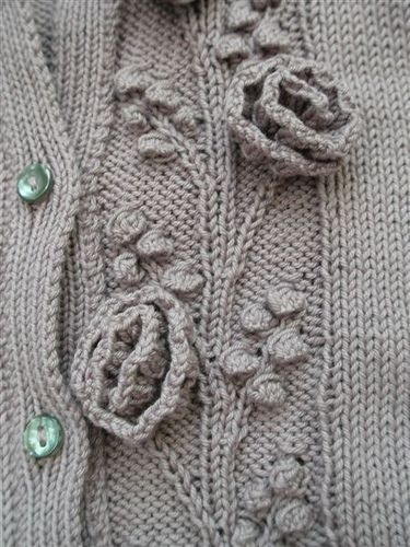 Rambling Rose by Martin Storey #knit