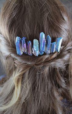 DIY Lightsaber Crystal Hair Comb