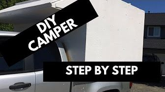 Ideas for holding down a camper shell - YouTube
