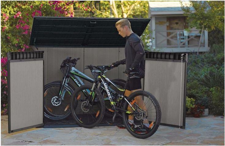 Plastic Bike Storage Sheds - Grande Store