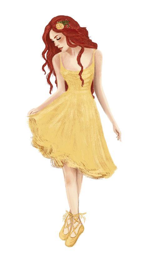 Lily Evans by Jenna Paddey Art