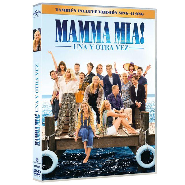 Universal Mamma Mia Una Y Otra Vez Dvd Dvd Mamma Mia Alemania