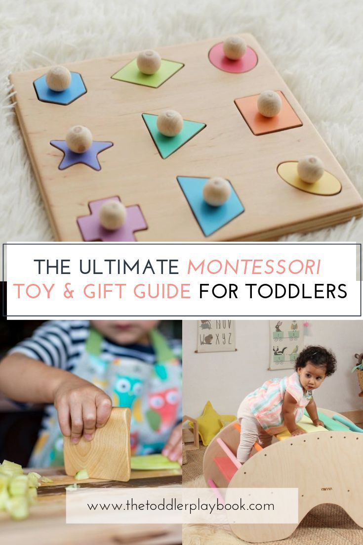 Discover the 80+ best handmade Montessori toys for toddlers here! Whether your l…