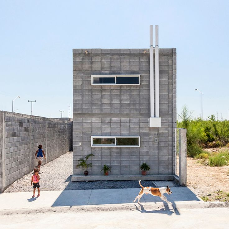The Casa Caja Box House By Su2013AR And Comunidad Vivex Is A Model For Low Cost Concrete  Housing In Mexico. Part 64