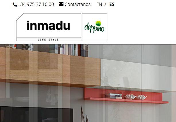 Realizamos la creación y diseño de la página web para empresa del sector mobiliario, muebles y decoración. En concreto la página web para una empresa