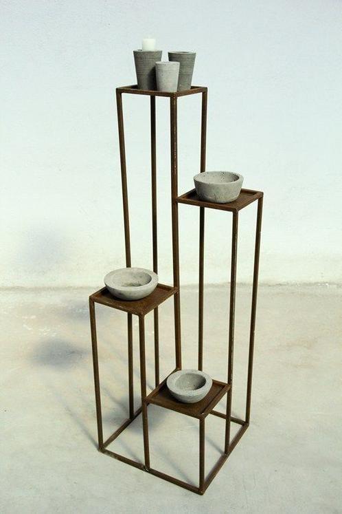 M s de 25 ideas incre bles sobre porta macetas en - Macetas minimalistas ...