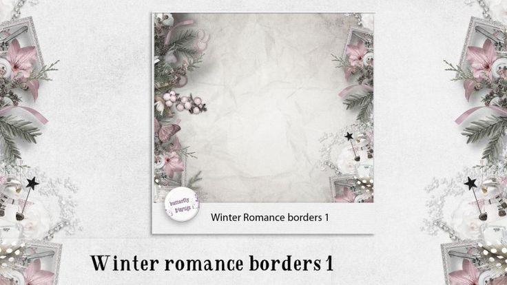 Winter romance borders 1