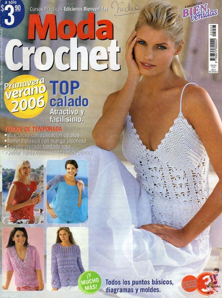 ISSUU - MODA CROCHET 2006 by Tejenora