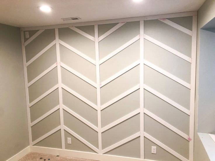 Herringbone Board And Batten Wall Tutorial Honey Built