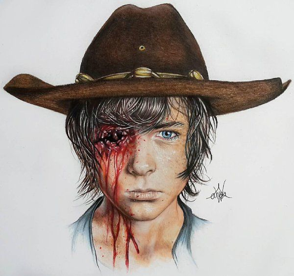 Walking dead fan art (not by me)