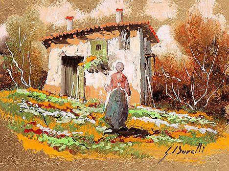 La Donzelletta by Guido Borelli