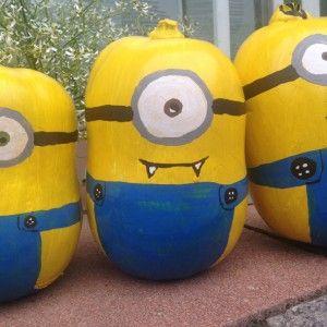 Blogparade-Beitrag: Minion-Kürbisse für Halloween - SPICEblog Der Blog rund um Kochen und Küche