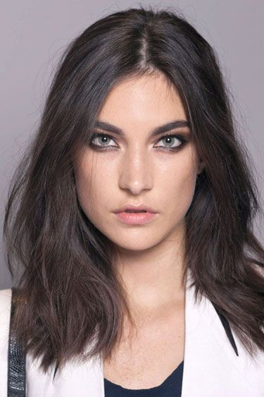 The Bold and Beautiful Brows at Versace - Best Spring 2013 Fashion Week Makeup Looks