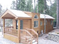log cabin double wide mobile homes bing images - Small Mobile Houses