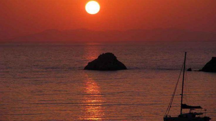 The Island of Elba - sunset on Viticcio