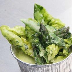 Pea Custard Salad by Bridget Batson and Caleb Jones of Claudine # ...
