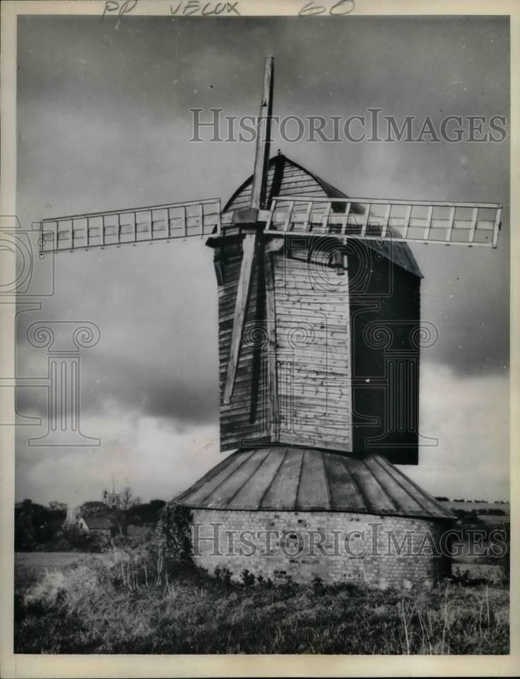 1963 Press Photo Pitstone, Buckinghamshire,U.K. old post mill | eBay