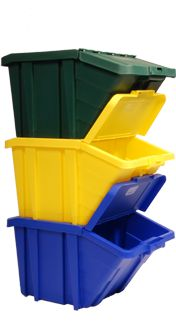 stackable recycling bins - been wanting these
