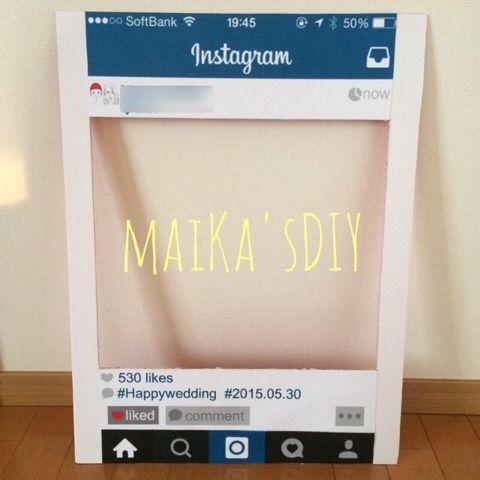 インスタフレーム作り方♡|maiKa's BLOG♡