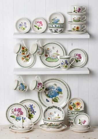 "Portmeirion ""Exotic Botanic Garden"". I'm collecting these. It's one of several dinnerware sets I collect. I have a weakness for dishes."