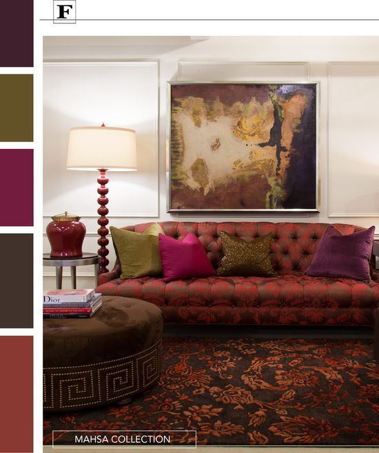 235 Best Jewel Tone Rooms Images On Pinterest | Color Palettes