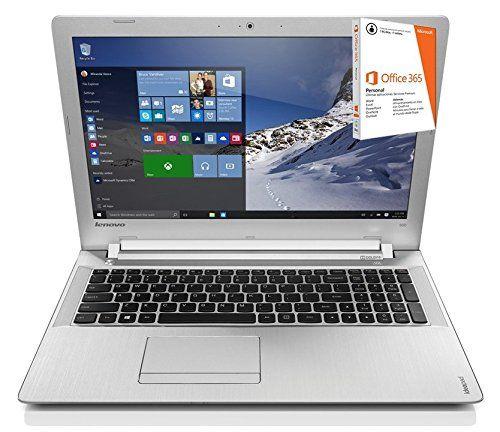 """Lenovo Z51-70 - Portátil de 15.6"""" Full HD (Intel Core i5-5200U, 16 GB de RAM, 1000 GB de disco duro, RADEON R9 M375 4 GB, Windows 10) plata - Teclado QWERTY Español - Tec Ofertas España"""