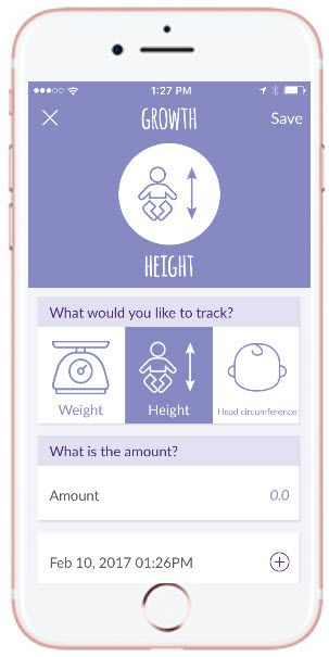 Track your baby's growth and food allergies all in one app. You can even share your records with your healthcare professional. #milkallergy #dairyallergy #failuretothrive