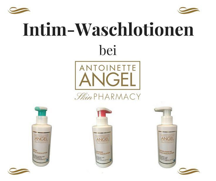 Neue Produkte in unserem Shop: Die drei verschiedenen Intim-Waschlotion von Antoinette Angel. Feuchtigkeit und Pflege für alle!