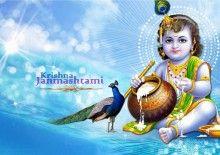 Janmashtami Krishna Birthday Wallpaper