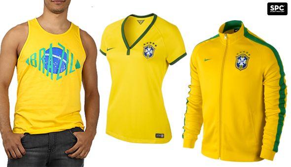 Brazilian #worldcup gear