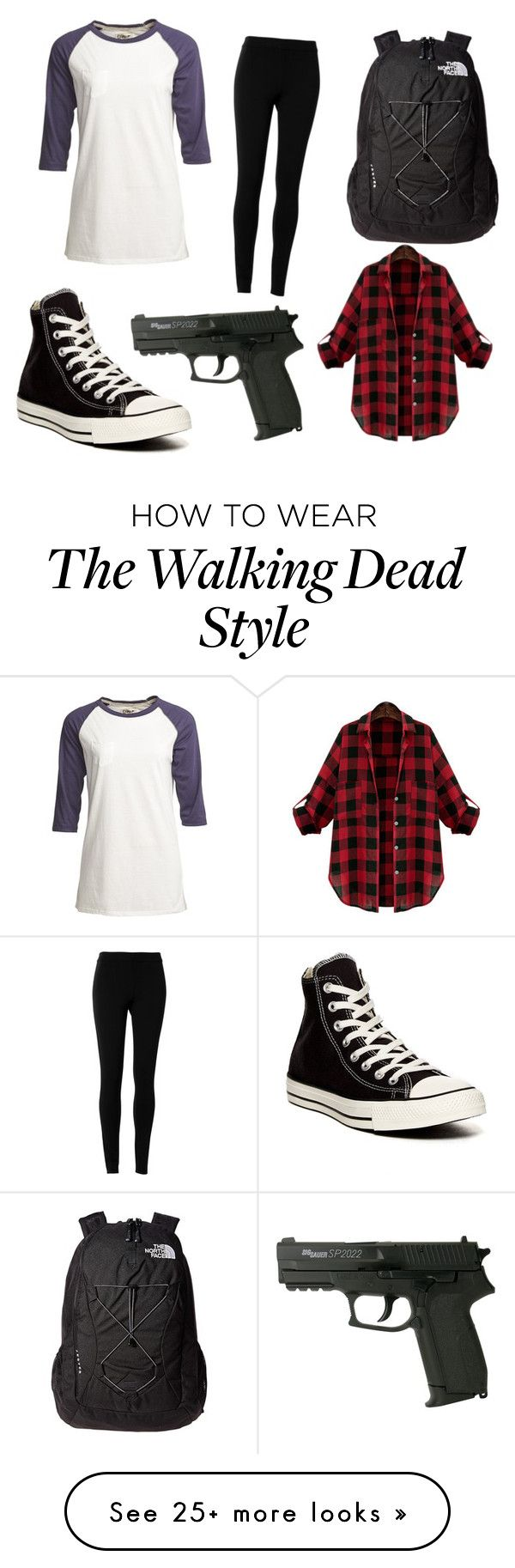 Walking dead converse shoes for sale -  The Walking Dead By Kmayhew4415 On Polyvore Featuring Camp Collection Max Studio