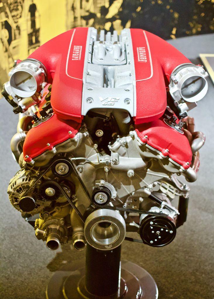 Schwarzie11 V12 Ferrari 6 5 Litre V12 Engine F140ga 789 Bhp As Found In The Ferrari 812 Superfast And Monza Sp1 Sp2 Muse V12 Engine Ferrari Engineering