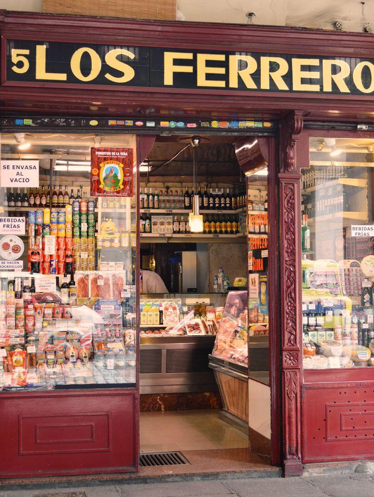 Old-school grocers shop