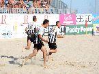 Beach Soccer - FINALI: la gioia del Viareggio per la vittoria vs Catania