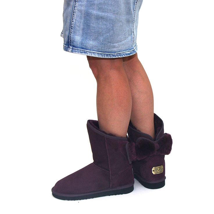 http://www.uggbootsmadeinaustralia.com.au/Shearling-Bow-Melba-Ugg-Boots-Plum.aspx