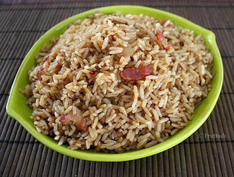 Arroz con Cebolla (Rice with bacon and onions)