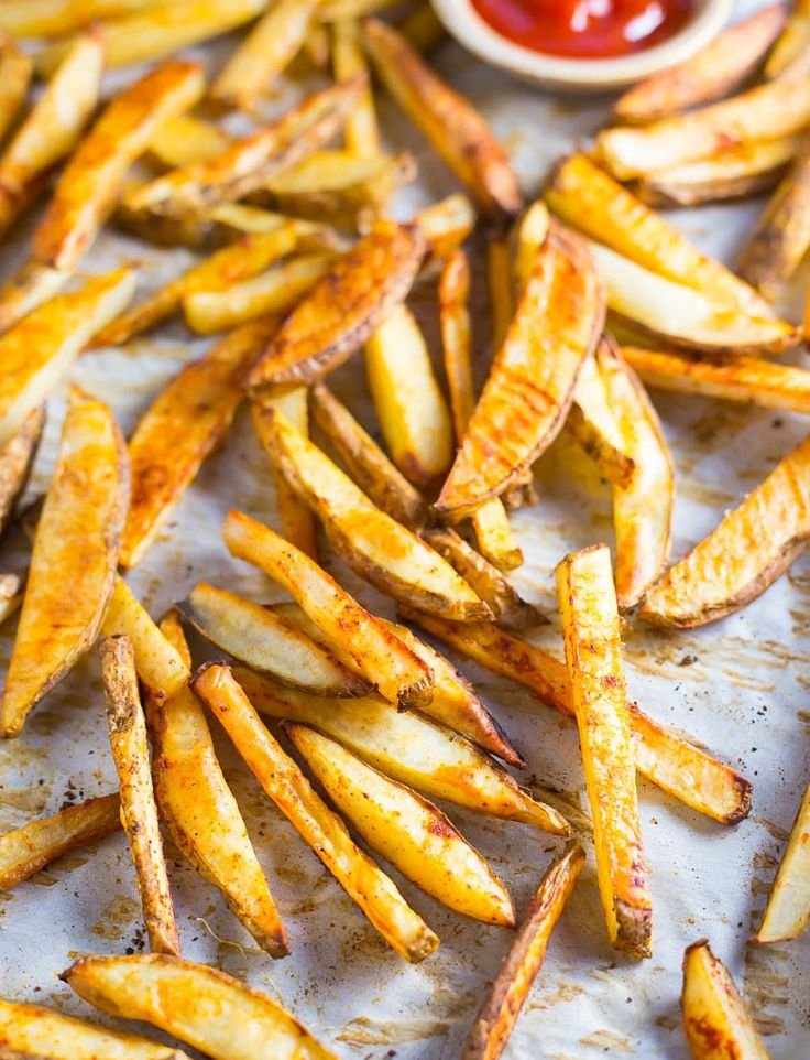 Crispy Oven Baked French Fries-9443